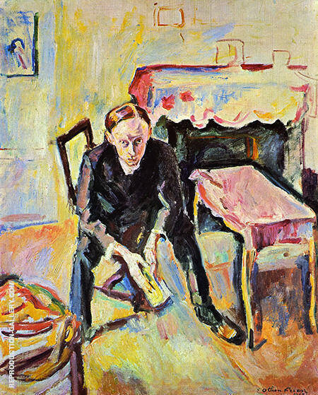 The Poet Fernand Fluret 1907 By Emile Othon Friesz