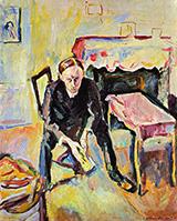 The Poet Fernand Fluret 1907 By Emile Othon Friesz