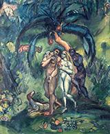 Temptation Adam and Eve c1910 By Emile Othon Friesz