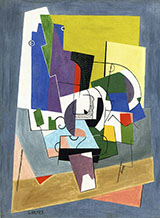 Composition 1921 By Georges Valmier