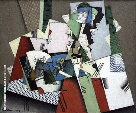 Geometrical Still Life By Georges Valmier