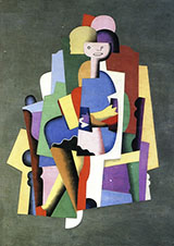 Girl Reading By Georges Valmier