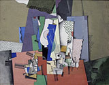 Geometrical Still Life 2 By Georges Valmier