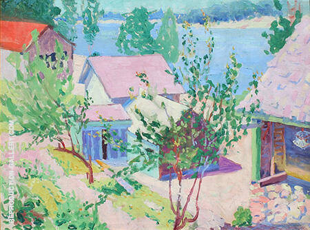 Saugatuck c1920 By Minnie Harms Neebe