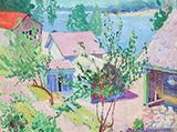 Saugatuck c1920 By Minnie Harms Neebe