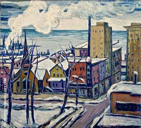 Waukegan 1930 By Minnie Harms Neebe