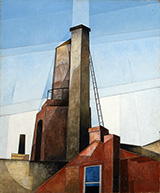 Aucassin and Nicolette 1921 By Charles Demuth