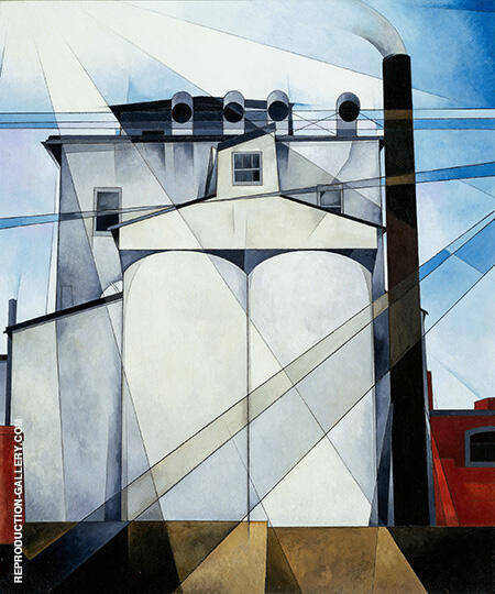 My Egypt 1927 Painting By Charles Demuth - Reproduction Gallery