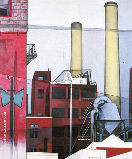 After All 1933 By Charles Demuth