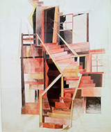 Stairs Provincetown 1920 By Charles Demuth