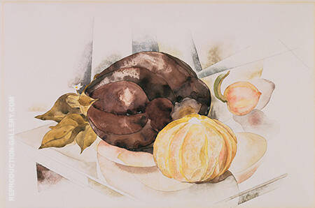 Eggplant c1922 Painting By Charles Demuth - Reproduction Gallery