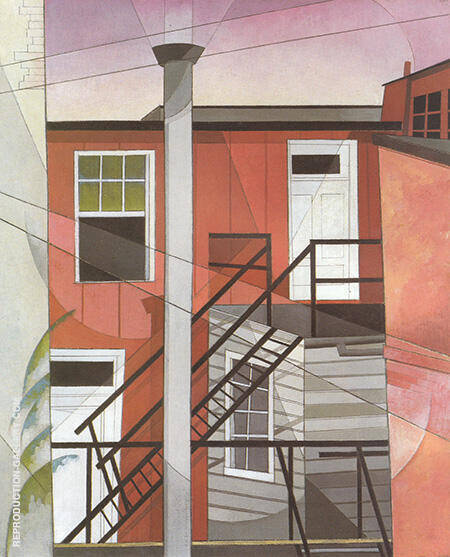Modern Conveniences 1921 By Charles Demuth