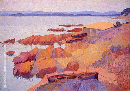Coast Near Antibes By Henri Edmond Cross