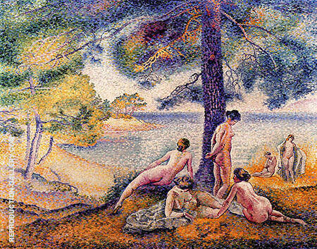 Reproduction of In the Shade 1902 by Henri Edmond Cross | Oil Painting Replica On CanvasReproduction Gallery