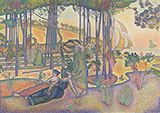 L'air du Soir c1893 By Henri Edmond Cross