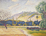 Landscape c1896-1899 By Henri Edmond Cross