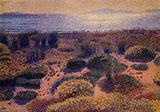 Plage De La vignassa By Henri Edmond Cross