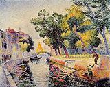 Ponte San Trovaso By Henri Edmond Cross