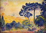 Provence Landscape By Henri Edmond Cross