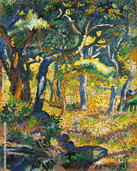 Study for the Clearing By Henri Edmond Cross