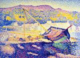 The Blue Boat By Henri Edmond Cross