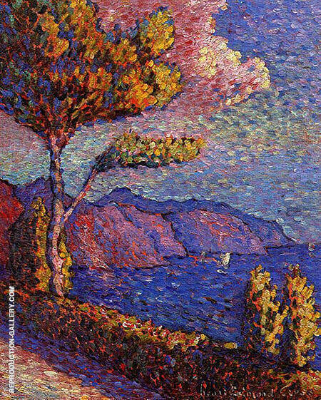 The Canal Near St Tropez By Henri Edmond Cross