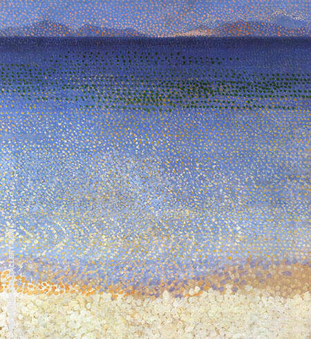 The Golden Isles By Henri Edmond Cross