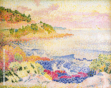 The Maures By Henri Edmond Cross