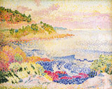 The Maures By Henri Edmond Cross