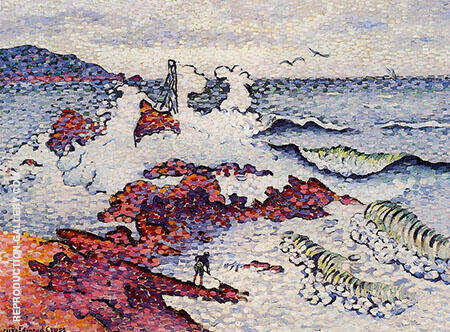 The Mediterranean East Wind By Henri Edmond Cross