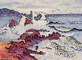 The Mediterranean East Wind By Henri Edmond Cross