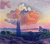 The Pink Cloud By Henri Edmond Cross