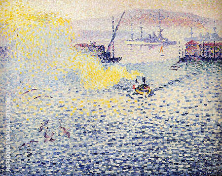 Toulon Winter Morning By Henri Edmond Cross