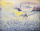 Toulon Winter Morning By Henri Edmond Cross