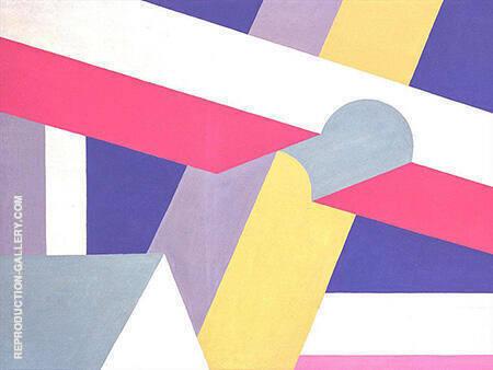 Transverse Beams 1932 By Patrick Henry Bruce