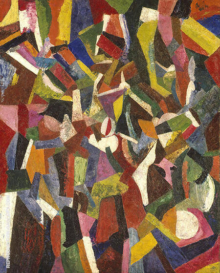 Composition VI 1916 By Patrick Henry Bruce