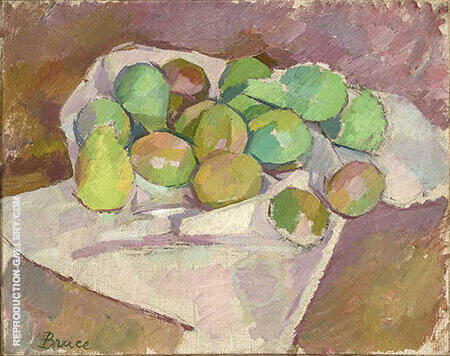 Plums Yale By Patrick Henry Bruce - Oil Paintings & Art Reproductions - Reproduction Gallery