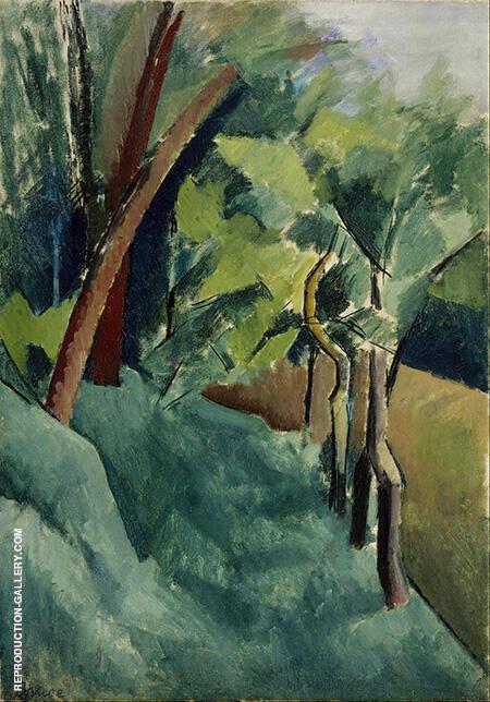 Landscape c1910-14 By Patrick Henry Bruce