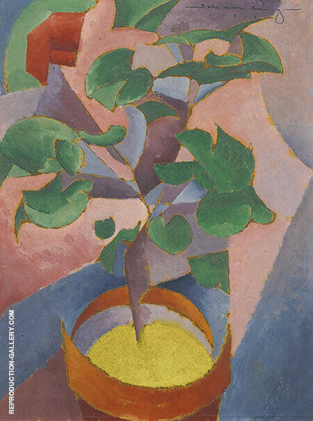 Still Life 1913 By Morton Livingston Schamberg - Oil Paintings & Art Reproductions - Reproduction Gallery