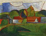 Abstract Landscape c1910-13 By Morton Livingston Schamberg