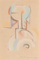 Abstraction c1916 By Morton Livingston Schamberg