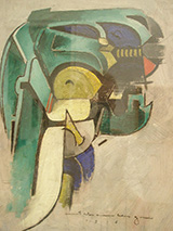 Painting IV Mechanical Abstraction 1916 By Morton Livingston Schamberg