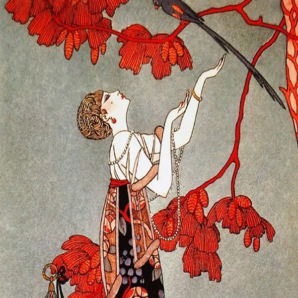 Oil Painting Reproductions of George Barbier
