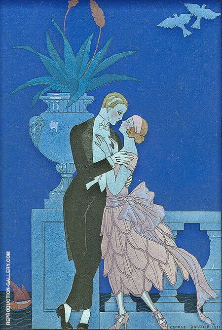Oui! 1921 By George Barbier
