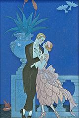 Oui! 1921 By George Barbier