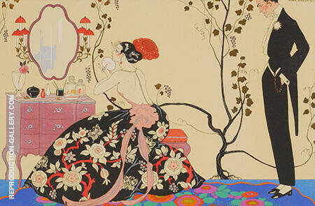 La Grand Decolletage 1921 By George Barbier
