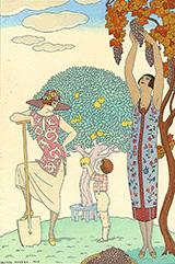 La Terre 1925 By George Barbier
