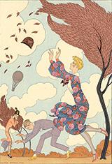 L'Air 1925 By George Barbier