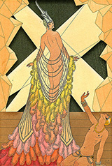 L'Orgueil Pride 1925 By George Barbier