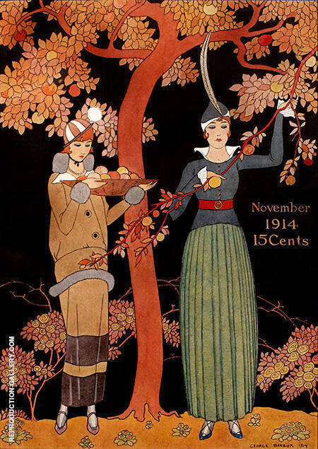November 1914 By George Barbier